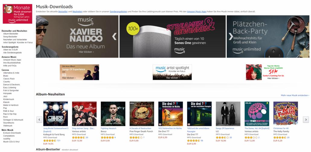 Musik Download Charts