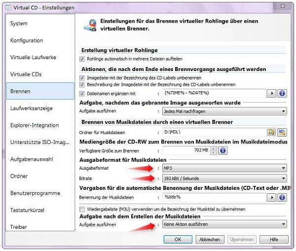 AAX Datein in MP3 konvertieren