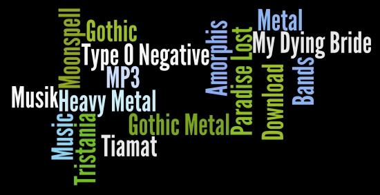 Gothic Metal » Bands Infos, Musik-CDs und MP3s