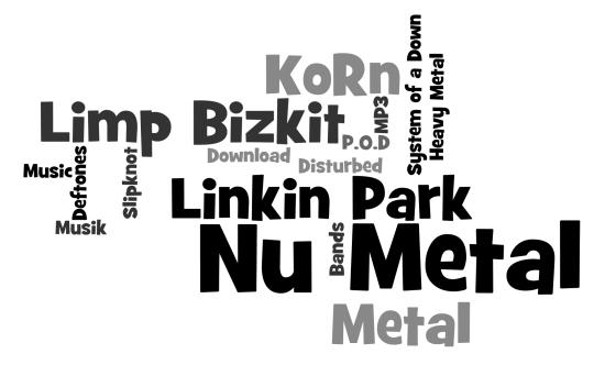 Nu Metal » Bands Infos, Musik-CDs und MP3s
