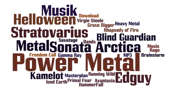 Power Metal » Bands Infos, Musik-CDs und MP3s